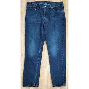 Levi's Mens 511 Slim Fit Blue Jeans Size 36 x 30